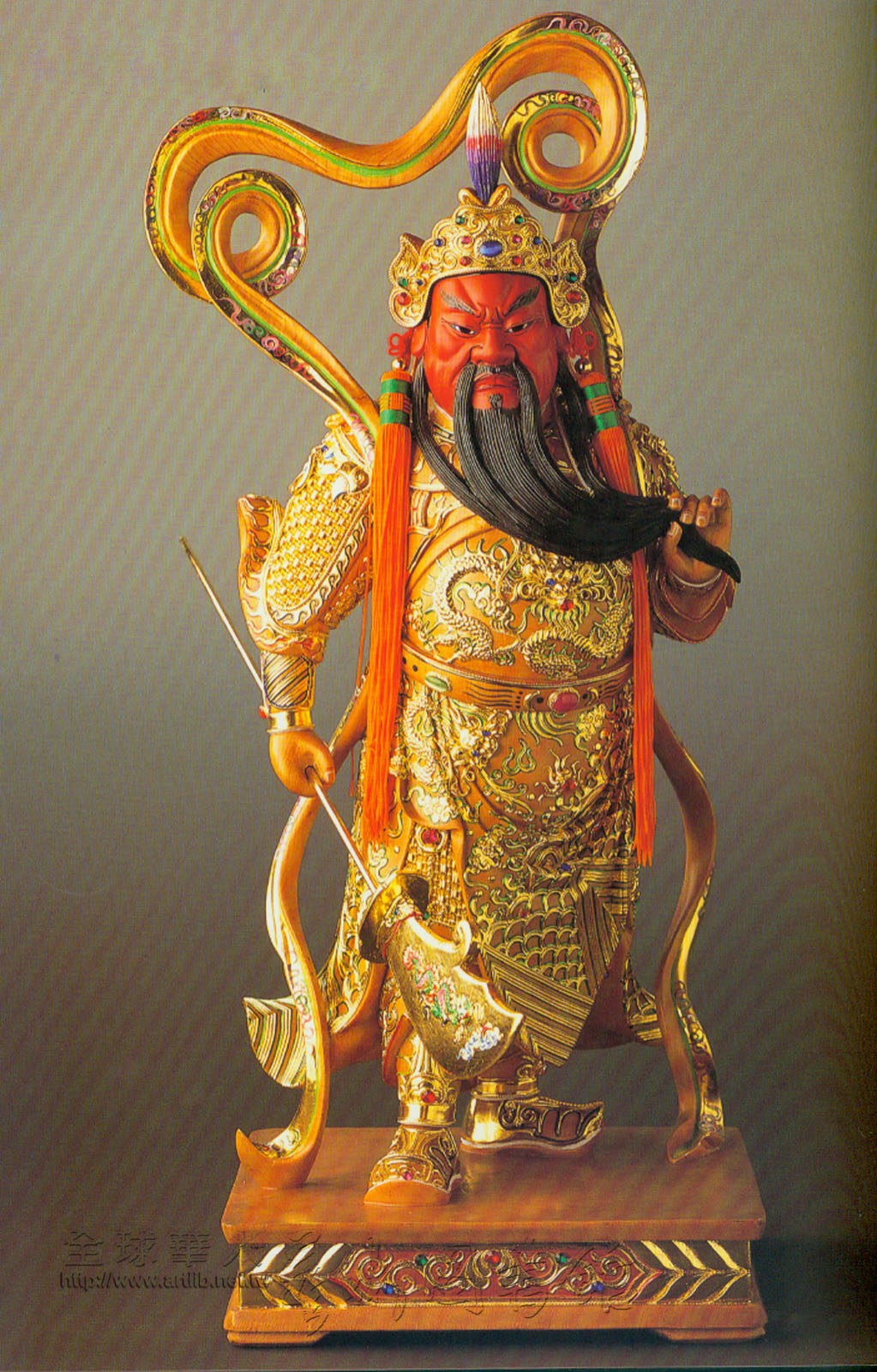 关羽成为佛教护法神的来历 - 准提护佑 - 准提护佑