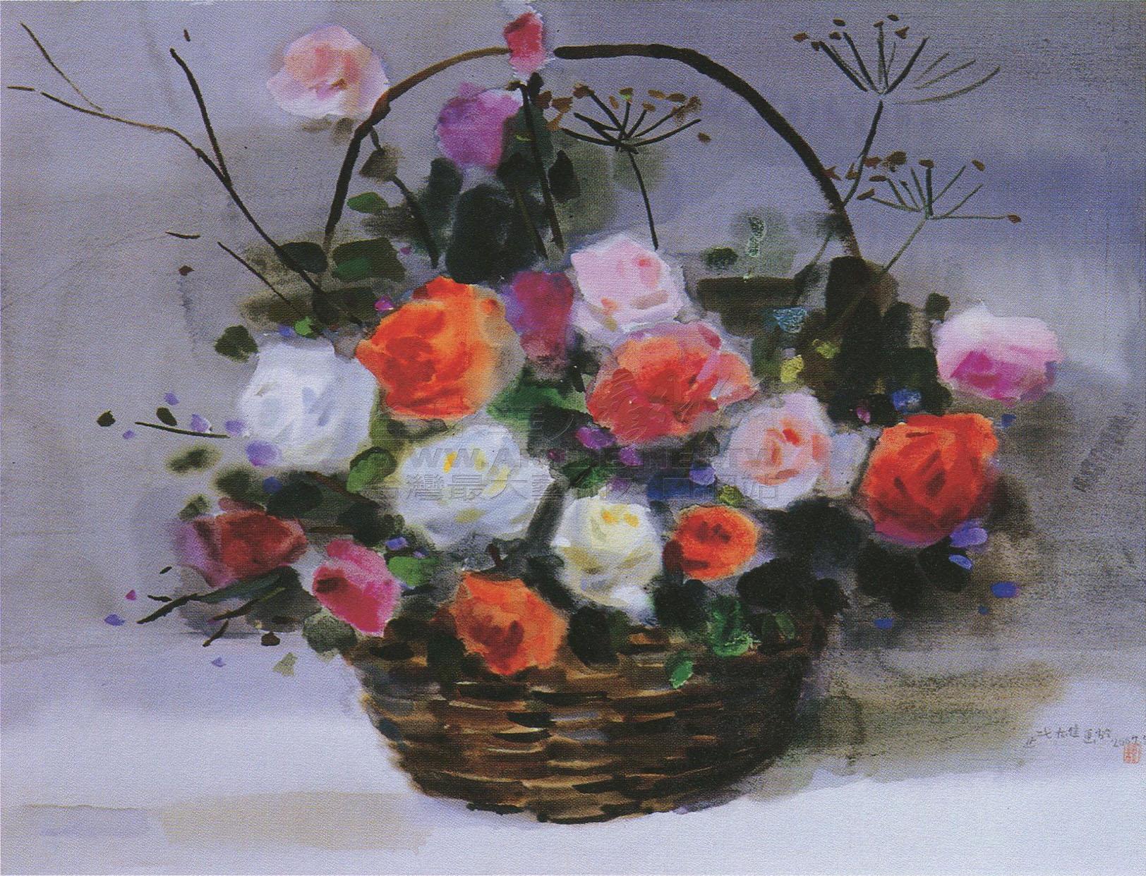 简笔画玫瑰花的画法