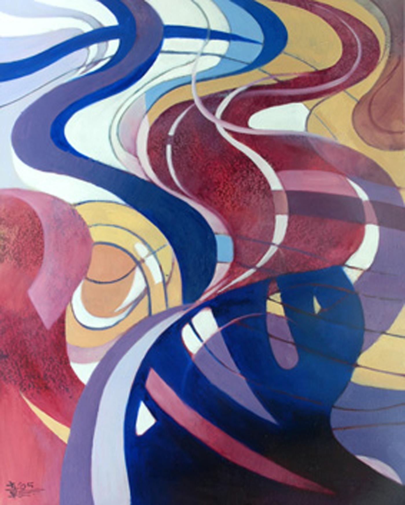 抽象画作品 蒙德里安抽象画作品 毕加索抽象画作品